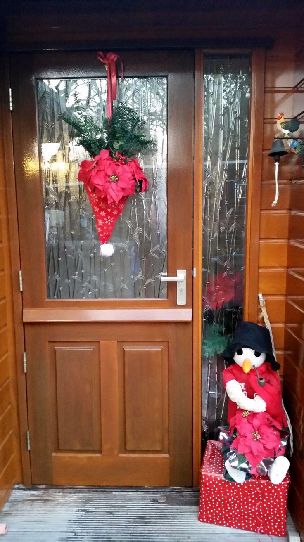 Kerst deur decoratie Geïnspireerd door Pinterest