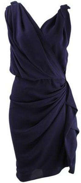 Lanvin Dress in Purple (violet) | Lyst