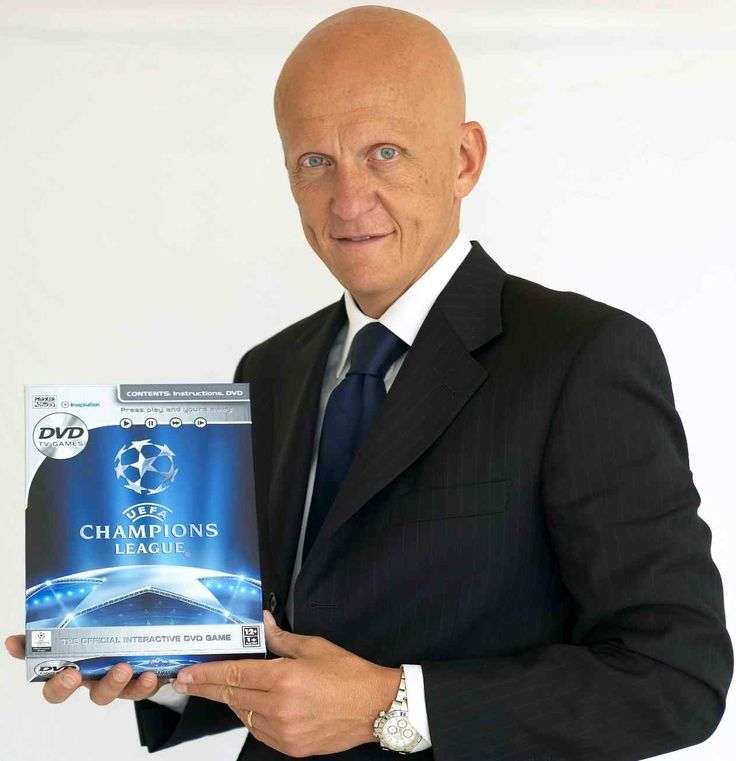 "Pierluigi Collina (born 13 February 1960) is an Italian former football referee. He was widely considered the best referee of his generation, named FIFA's ""Best referee of the Year"" six consecutive times. He is still involved in football as non-paid consultant to the Italian Football Referees Association (AIA), and is a member of the UEFA Referees Committee. Collina has been the head of referees for the Football Federation of Ukrainesince July 5, 2010."