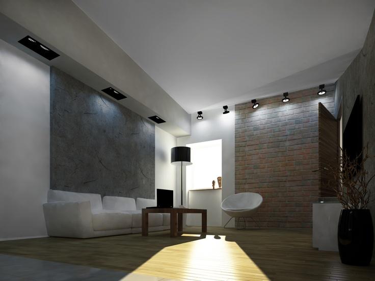 RoomReveal - Studio in the attic by Barbara Kamińska Projektowanie wnętrz Kraków http://altrostudio.com.pl