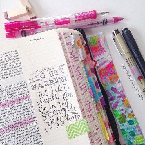 On Bible journaling