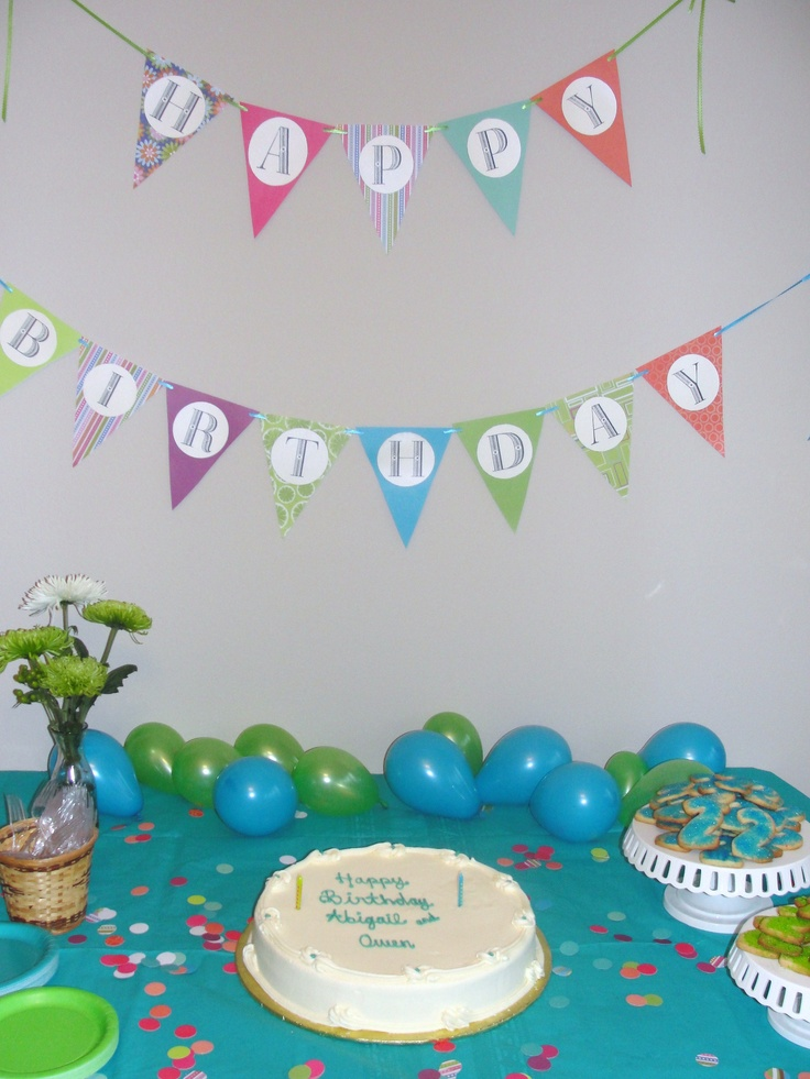 Cake table and decorations for second birthday secret for 2nd birthday decoration ideas