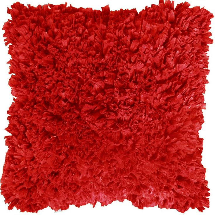 Dutch Decor kussenhoes Romano 45x45cm rood