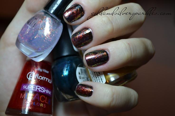 http://www.goldandsilversparkles.com/2012/09/notd-autumn-sparkles.html #beautyblog #nails #blogs #notd