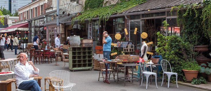 Marché aux puces de Saint-Ouen Paris