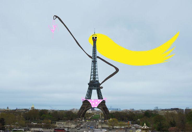 Créativité enrichit Paris (creativity embellishes Paris)