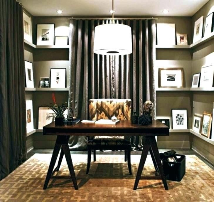 Business Office Decorating Ideas Rustic Home Offices Small Design