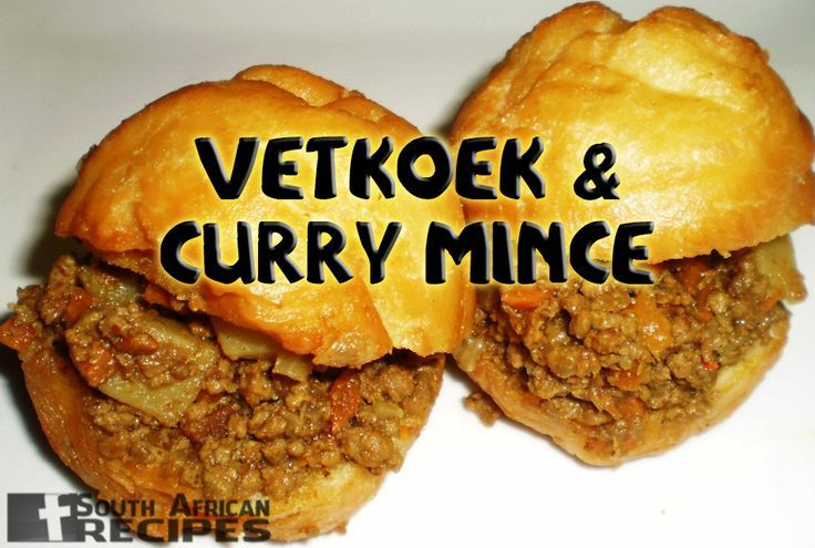 cool South African Recipes VETKOEK & CURRY MINCE (the coo coo cook)...byDiMagio