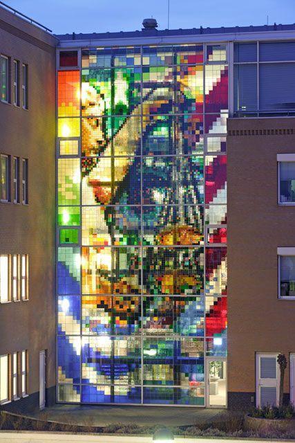 glas in lood ramen ontwerpen stainedglass windows arno coenen lady justice - Glas in lood Atelier Schmit