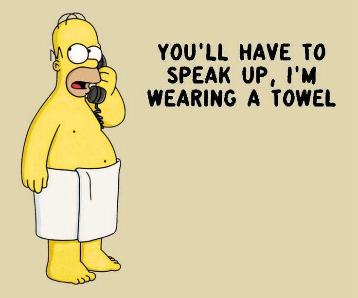 A Hable mas fuerte que traigo una tualla