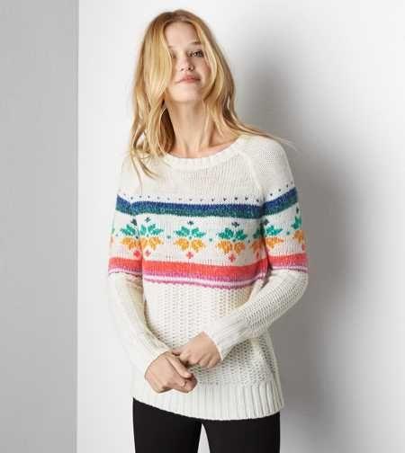 AEO Snowflake Sweater