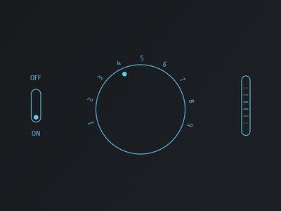 Flat Audio UI Kit by George Leonardo (Dribbble)