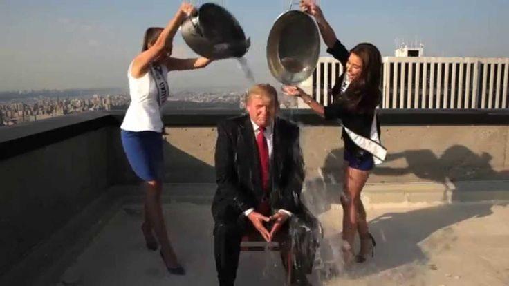 Donald Trump ALS Ice Bucket Challenge / Trump Doing The ALS Ice Bucket Challenge, A Billion Thanks Mr President To Be Trump, I Lost My Mom to ALS!