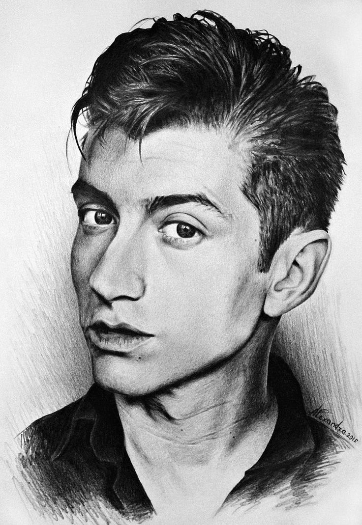 alex turner sketches - Google Search