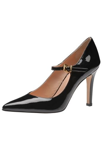 Ein Traum von Schuh: Der neue Damenpumps aus dem Hause Evita Shoes betört mit sinnlicher Silhouette und einem atemberaubenden Absatz. Für ultimativen Halt und den besonderen Retrolook sorgt das schmale Riemchen über dem Rist. Ladys mit Anspruch an Design und Verarbeitung werden diesen Style handmady in Italy lieben! Evita Shoes - Leidenschaft für italienische Schuhe
