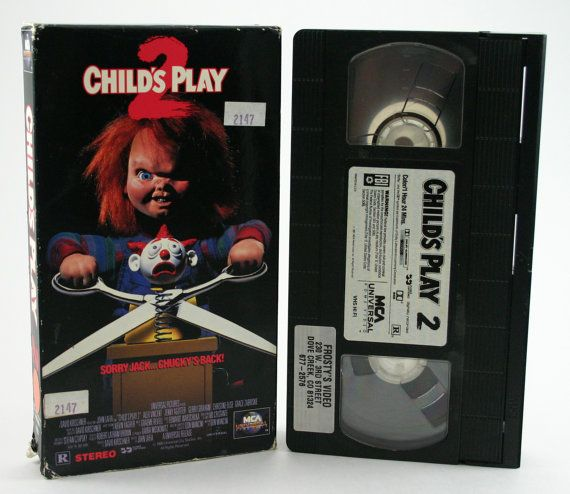 childs play 2 vhs by vafanghoul on etsy 497 va