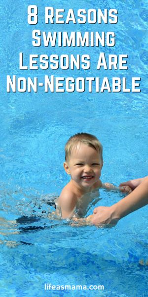 Summer is almost here and that means you want your kids to be safe in the pool, lake and ocean. Swimming lessons are SO important and here are 8 reasons why.