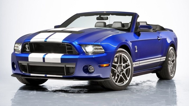 2013 Ford Shelby GT500 Convertible: 650 Horsepower, 155 MPH Top Speed