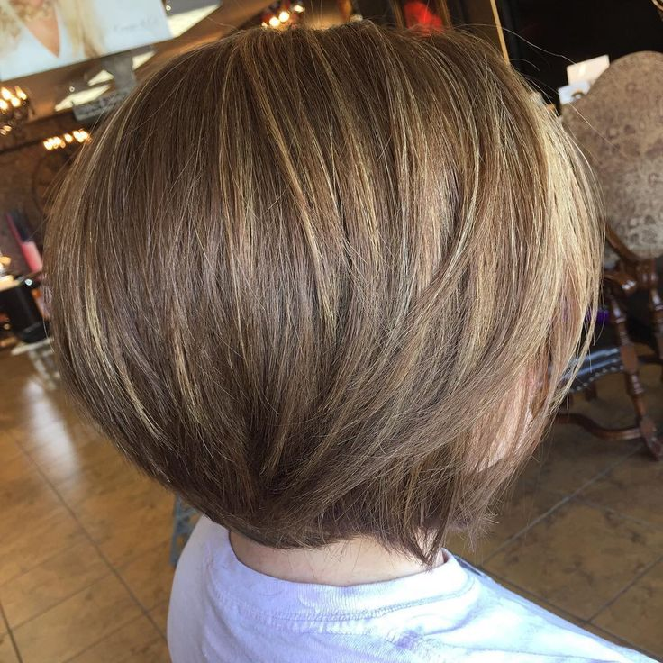 Golden Brown Bob With Sun Kissed Highlights Cowanandco