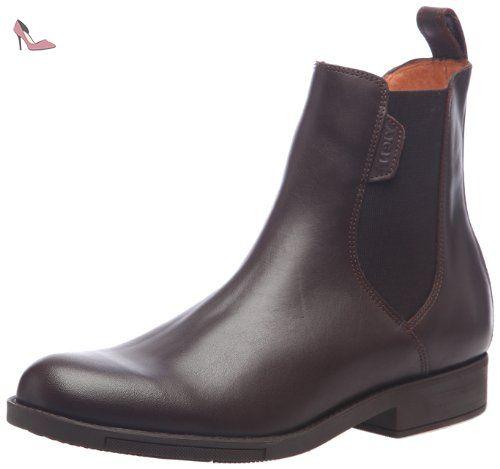 Aigle - Orzac - Chaussure d'equitation - Homme - Marron (Dark Brown) - 42 EU (8 UK) - Chaussures aigle (*Partner-Link)