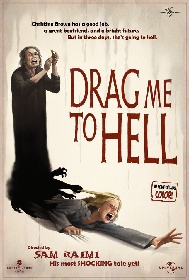 """xombiedirge: """"Drag Me To Hell by Kevin Keele """""""
