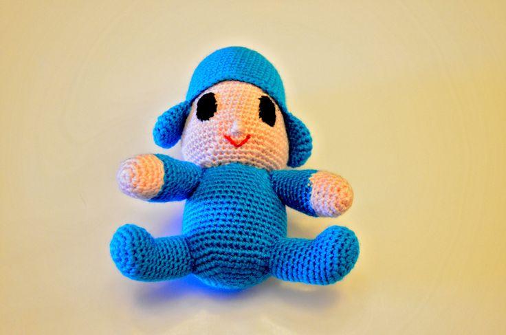 Amigurumi, muñeco realizado a ganchillo en lana acrílica de VILLAGUANGUITO en Etsy