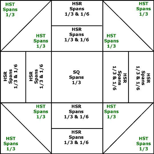 free churn dash quilt pattern | Churn Dash Quilt Block Pattern