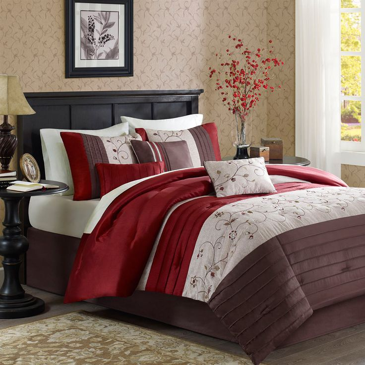 Create The Perfect Romantic Getaway In Your Own Home With This Madison Park  Belle Elegant Comforter