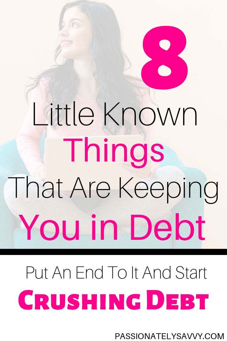 "Wanna Know The 8 ""Things"" Or Excuses Keeping You In Debt?"