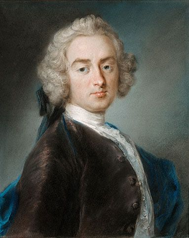 Sir James Gray, Second Baronet by  Rosalba Carriera   about 1744 - 1745