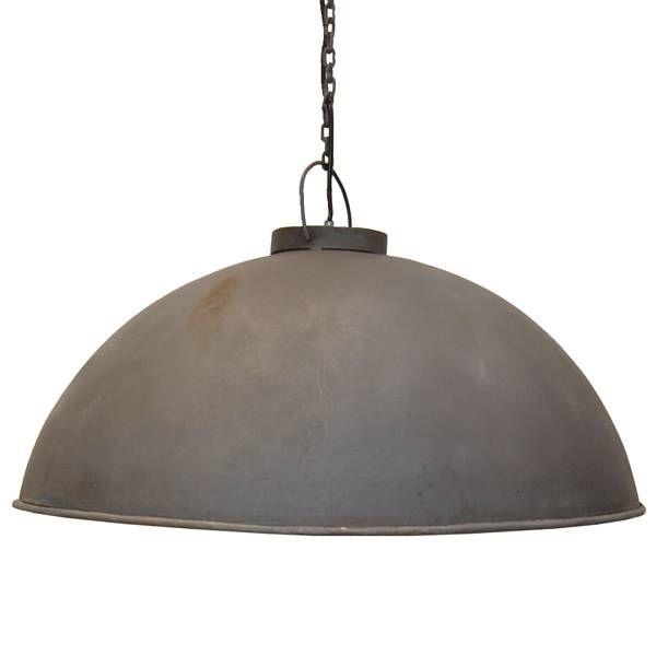 Trademark Living Grote Hanglamp Zink - Trademark Living