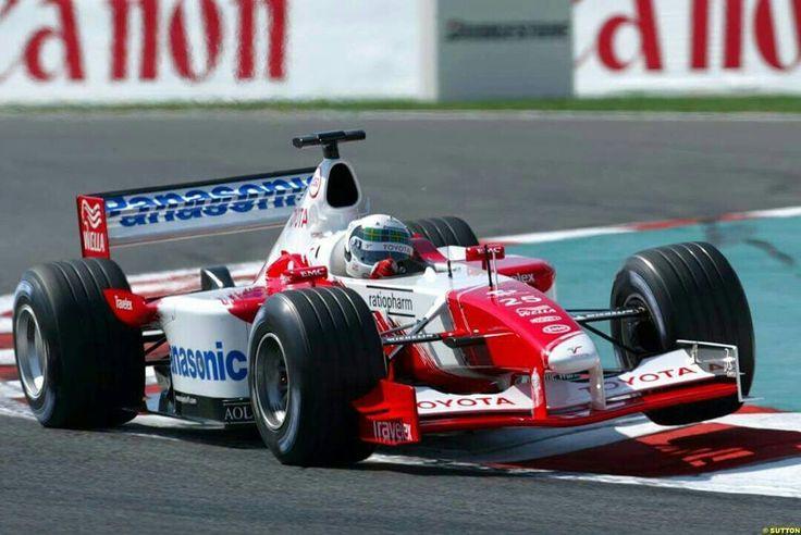 Panasonic Toyota Racing     No.25 Allan McNISH             TOYOTA TF102                       RVX-02 NA 3.0L V10              Michelin (2002 Rd.11 France GP)