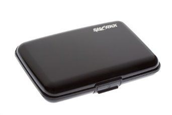 SHARKK Aluminum Wallet Credit Card Holder with RFID Protection
