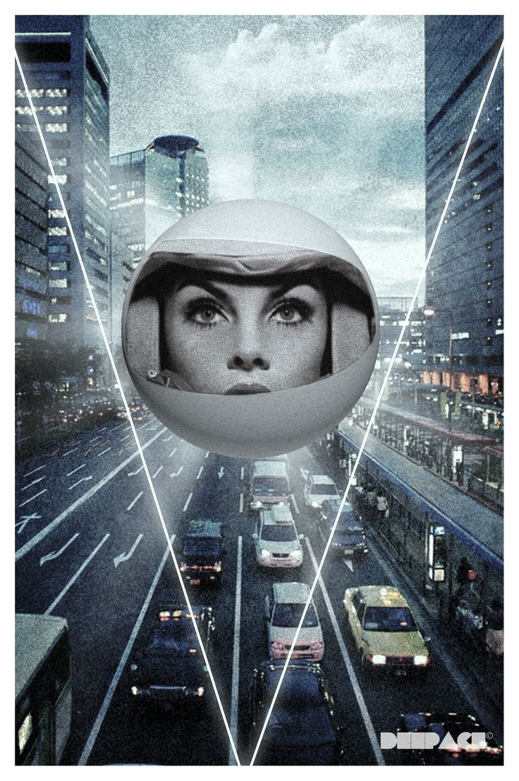 Fashion astronaut - poster design