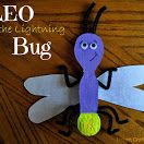 Book, Leo the Lightning Bug by Eric Drachman & Craft