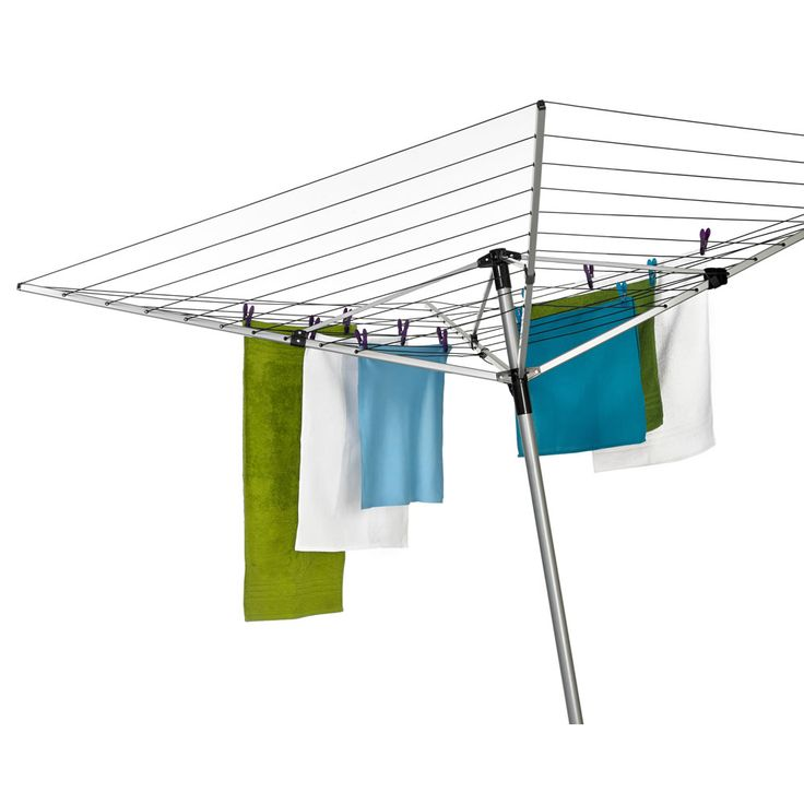 wilko rotary airer 4 arm 60m at airer. Black Bedroom Furniture Sets. Home Design Ideas