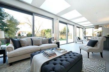 Roehampton Gate transitional-living-room