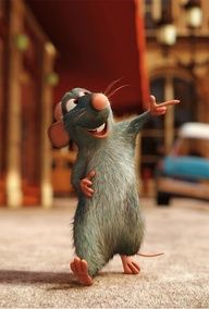 Remy in Ratatouille