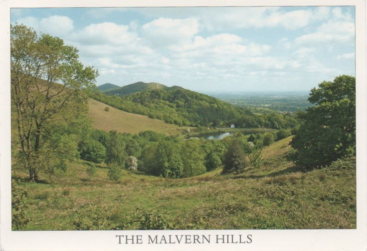 GB-772356 - Arrived: 2016.05.02   ---   Malvern Hills, range of hills in Worcestershire, Herefordshire and a small area of northern Gloucestershire