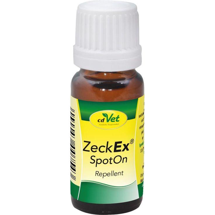 ZECKEX SpotOn Repellent für Hunde-Katzen:   Packungsinhalt: 10 ml Ätherisches Öl PZN: 12346784 Hersteller: CD VET NATURPROD. GMBH Preis:…