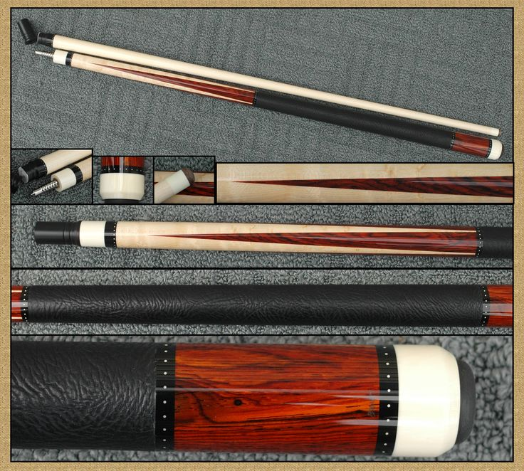 Barnhart custom pool cue.