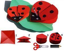 Joaninhas fáceis!  Easy ladybug!