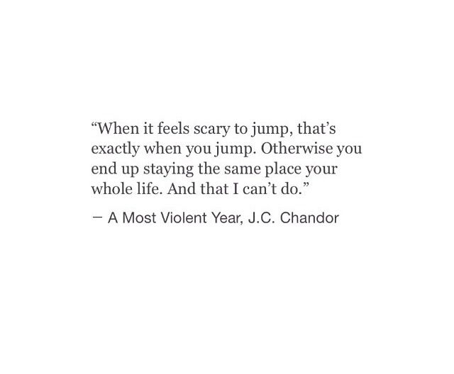 Nope...I never want to be STUCK in the same place in anything ...unless it feels like home and continued growth.