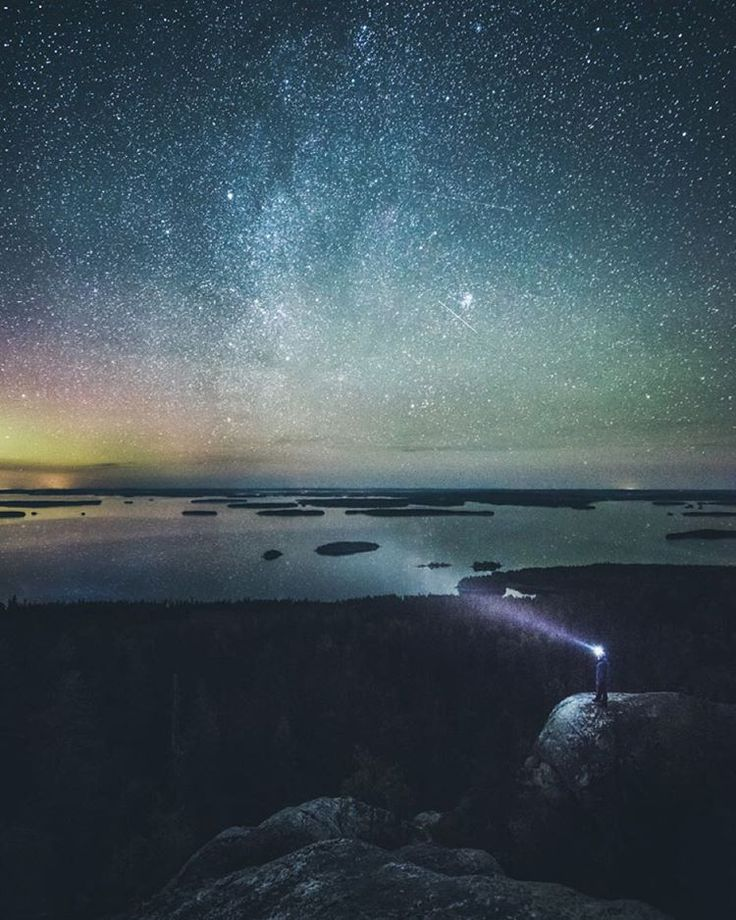 """""""View up from Koli, Finland. This place is beautiful! I posted a quick before & after vid on my snapchat: mikkolagerstedt. Enjoy your day!  If you want to…"""""""