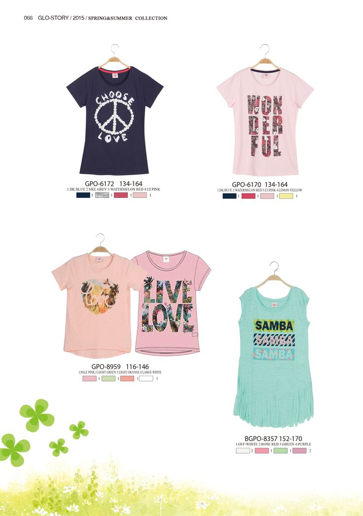 Have fun in these T-shirts  #glostory #fashion #forgirls #ss15 #cute #clothing #fashion #tshirt