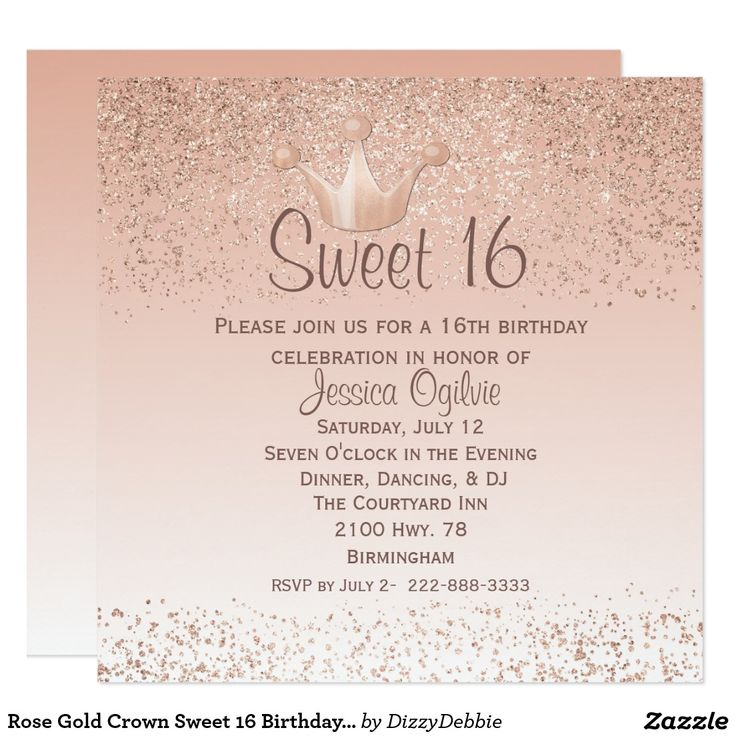 467 best Teens 1317 Birthday Invitations images on Pinterest