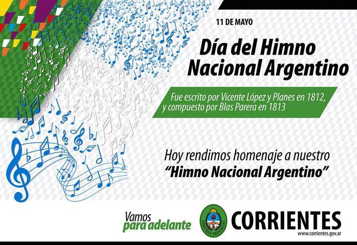 Día del Himno Nacional Argentino #VamosParaAdelante