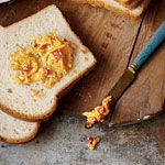 LIGHTENED UP Pimento Cheese?...worth a try.  That way I can eat the whole bowl :)