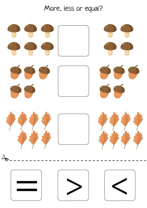 Educational Worksheet For Preschool Kids Fun Worksheets For Kids Math Activities Preschool Educational Worksheets