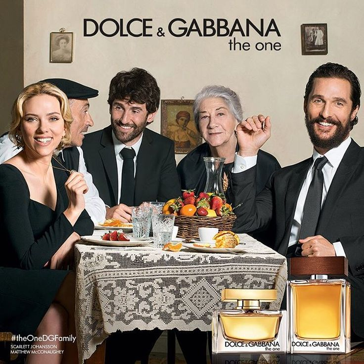 Matthew McConaughey + Scarlett Johansson Join Dolce & Gabbanas Familia